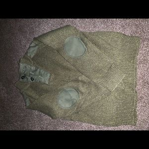 Army green epic sweater size 4